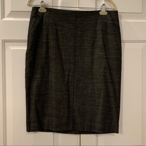 NWT Loft Gray Pencil Skirt Size 12